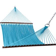 Outdoor Patio Swing by Inch Double Caribbean Hammock Hand Woven Polyester Outdoor