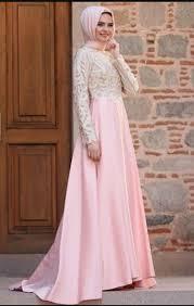 Baju Muslim Brokat model baju muslim brokat kombinasi satin model baju terbaru 2018
