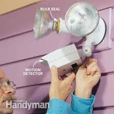 motion sensor light doesn t turn on how to choose and install a motion sensor light the family handyman