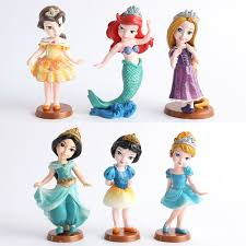 disney toys kids classic cartoon dolls anime princess mermaid