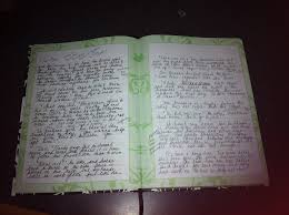 writing journal paper a gallery of writers journals ramona defelice long journal ss