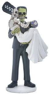 beautiful halloween wedding cake toppers b28 in images gallery m68