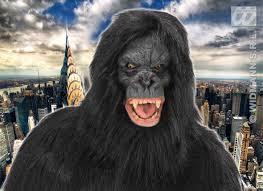 gorilla halloween mask black hairy king kong mask gorilla monkey ape halloween fancy