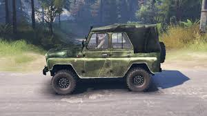 uaz interior 469 hd for spin tires