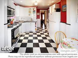 cathy and dave u0027s charming vintage bungalow kitchen remodel retro