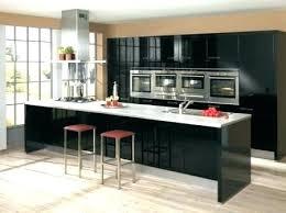 cuisine noir laqué cuisine laque noir cuisine laque noir meuble de cuisine noir laque