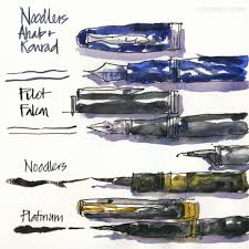 fountain pen sketching part 6 pens with variable lines 1 liz