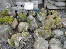 Rock For Garden by Piles Or Large Landscape Rocks For Beautiful Gardens With Green