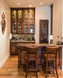 wet bar cabinet home bar traditional with recessed lighting wood