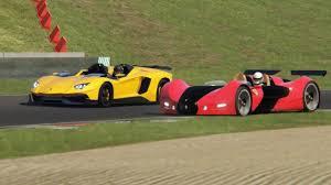 Lamborghini Aventador J Black - battle lamborghini aventador j vs ferrari celeritas at mugello
