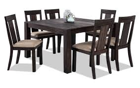 wood dining room sets dining room sets bob s discount furniture