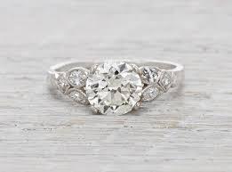 popular art deco engagement rings 1 61 carat hair styles