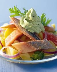 comment cuisiner le hareng hareng fumé en salade crème mousseuse au persil régal