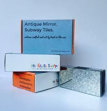 antique mirror subway tiles the glass shoppe a division of antique mirror subway tiles