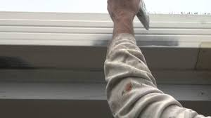 gutters and fascia the best technique on how to apply paint to