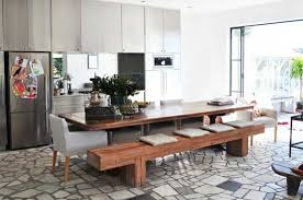 Dining Room Tables With Benches Benches For Dining Room Tables Images Various Best Table Bench