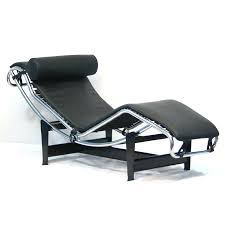 Ikea Chaise Lounge Chaise Leather Chaise Lounge By Van Den Berg Black Chair Modern