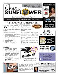 chase sunflower june 23 2017 by chase sunflower issuu