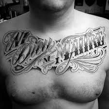 60 typography tattoos for men word font design ink ideas