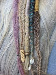 hippie hair wrap modern hippie hair wrap clip in dreadlock extension look unique