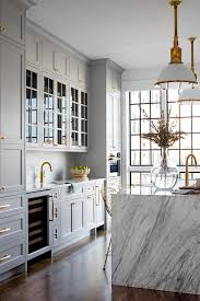gray walls with stained kitchen cabinets 6 proven tips for choosing the gray kitchen cabinet