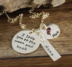 Mothers Necklace With Children S Names Mother U0027s Day Jewelry Blissliving Com