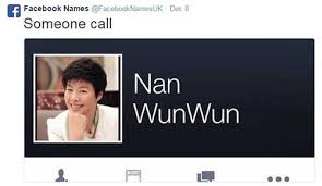 Name Memes - people on twitter are turning facebook names into song lyrics and