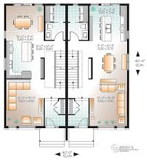 multi family plan w3056 v1 detail from drummondhouseplans com