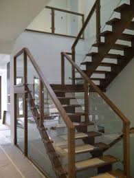 Banister And Railing Ideas Wood Glass Railing U2013 Smartonlinewebsites Com