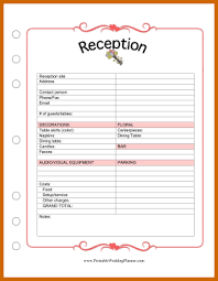 wedding planner organizer 10 free printable wedding planner organizer lease template