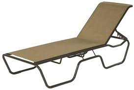 Suncoast Outdoor Furniture Commercial Sling Chaise Lounge Sanibel Stacking Outdoor Patio