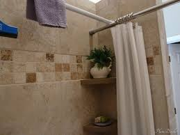 shower rod storage tips for storage in the bathroom and shower