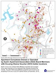 Map Of Austin Mapping The Austin Apartment Association U0027s Opposition To Source Of