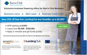 sams club business cards lending club teams up with sam s club to deliver small business