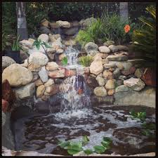 Backyard Water Falls by My Backyard Waterfall And Pond Things I Adore