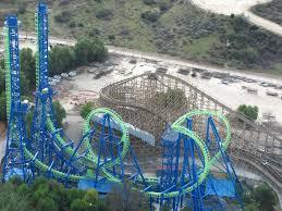 Six Flags Magic Mountain Six Flags Magic Mountain Theme Park In California Thousand Wonders