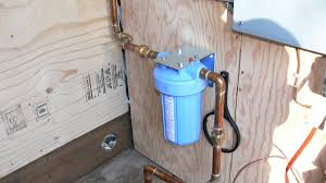 House Plumbing by Whole House Water Filter Cabin Diy