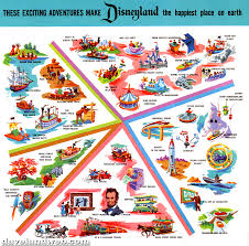 Disney Monorail Map Daveland Disneyland Brochures Maps And Tickets