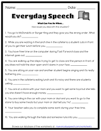 what can you do when everyday speech everyday speech