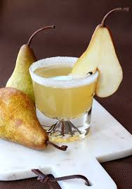martini pear pear brandy cocktail mantitlement