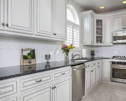 white glazed kitchen cabinets glazed cabinets add traditional depth dimension to any