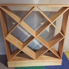Wine Racks Wooden Rustic Free Woodworking Plans by Kreg Tool Company