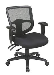 Ergonomic Task Chair Amazon Com Office Star Ergonomic Task Chair With Progrid Back And