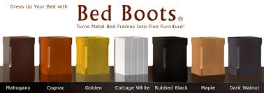 Cover Bed Frame Bed Boots Dress Up Your Bed Metal Bed Frame Leg Covers Bedroom