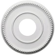 What Size Ceiling Medallion For Chandelier Westinghouse 7702700 Victorian Ceiling Medallion 10