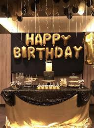 60th birthday party decorations colors black and gold party decorations ideas plus black and gold