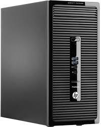 ordinateurs de bureau hp hp prodesk 400 mt g2 k8k66ea achat ordinateur de bureau grosbill