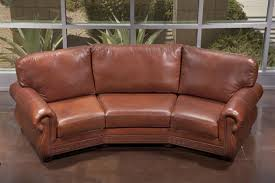 Curved Sofa Leather Design Of Curved Leather Sofas Casablanca 3 Seat Curved Sofa