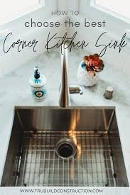 corner kitchen sink cabinet plans how to choose the best corner kitchen sink trubuild