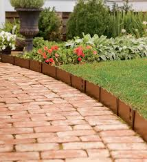 metal landscape edging lowes cheap kimberly porch and garden
